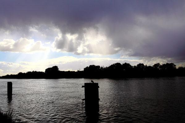 Bord de Seine orageux (Rouen - octobre 2010)