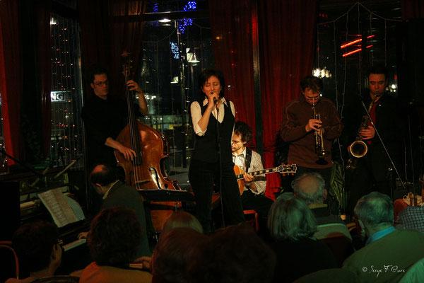 SancySnowJazz  2007 - Air Swing and Fire - La brasserie du soleil