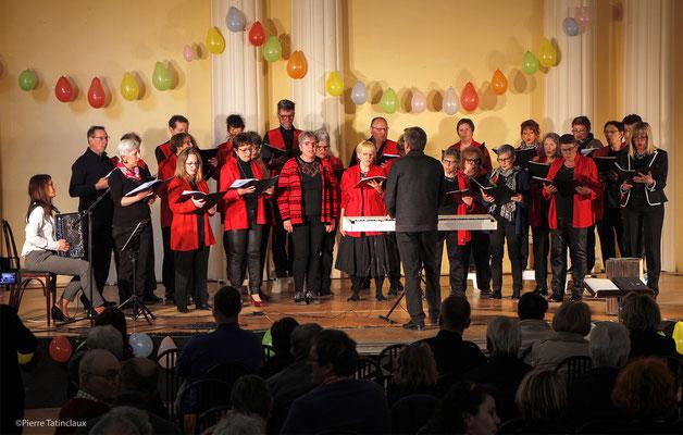 Concert des 15 ans de la chorale Volcalise - Grande salle du Casino - Auvergne - France