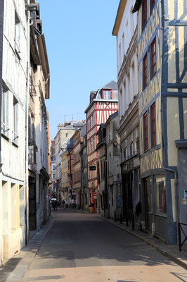 Rue des Bons Enfants - Rouen - Seine Maritime - Normandie - France