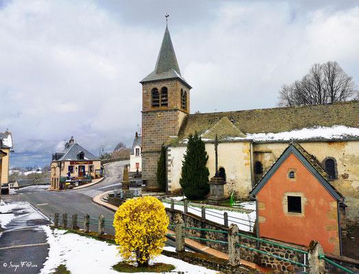 L'église de Murat le Quaire - Massif du Sancy - Auvergne - France