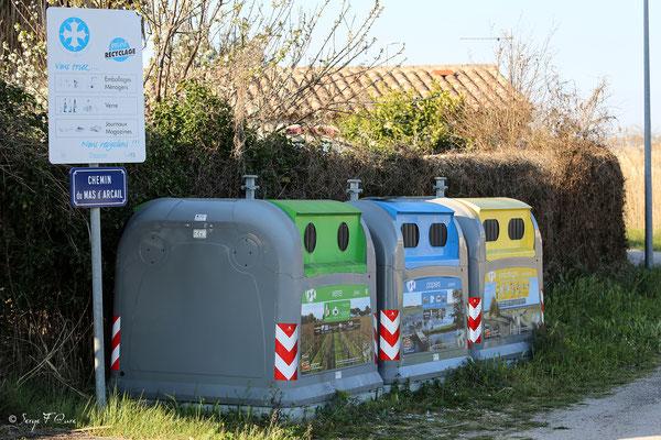 Les poubelles de recyclage qui sourient