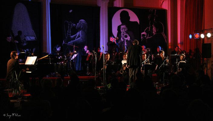 SancySnowJazz 18ème édition 2007 - Laurent Mignard Duke Orchestra - Grande salle du Casino - la Bourboule - Auvergne - France