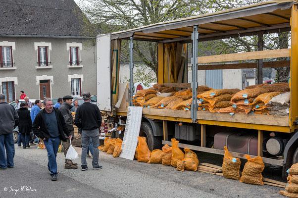 Foire de Giat (les pommes de terre) - Auvergne - France  (2017)