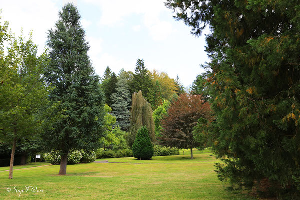 Parc Fenestre à La Bourboule - Auvergne - France