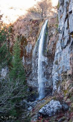 La grande cascade - le Mont Dore - Massif du Sancy - Auvergne - France