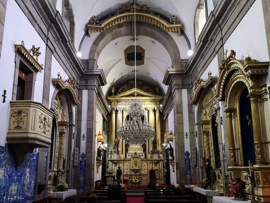Intérieur de la Capela das Almas Église de Porto - En déambulant dans les rues de la ville historique de Porto - Portugal