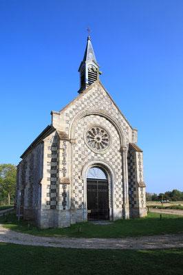 Chapelle Saint Valéry - Saint Valéry sur Somme - Baie de Somme - Picardie - France (juillet 2011)