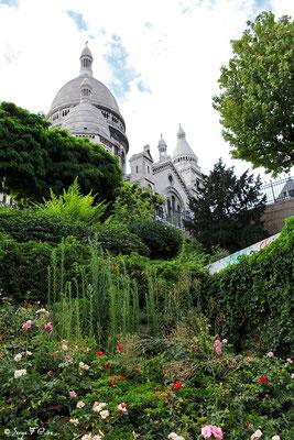 La Basilique du Sacré Chœur - Montmartre - Paris - France - 2010