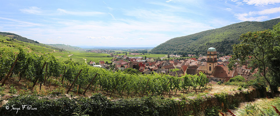 Kaysersberg - Alsace - France - Juillet 2014 - Vue panoramique