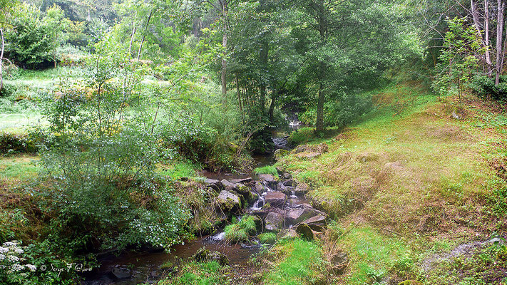 Du Chier à St Privat d'Allier - France - Sur le chemin de St Jacques de Compostelle (santiago de compostela) - Le Chemin du Puy ou Via Podiensis (variante par Rocamadour)