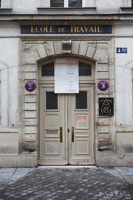 Ecole de Travail en travaux - Paris (Avril 2012)