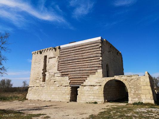 Le château Tourvieille - Réserve Naturelle Nationale de Camargue - Les Saintes Maries de la Mer - Camargue - Bouches du Rhône - France