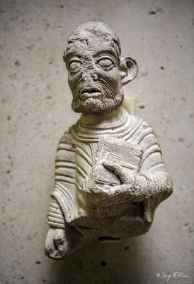 Sculpture - Musée National du Moyen Âge - édifice situé au cœur du Quartier latin, dans le Ve arrondissement de Paris (France)