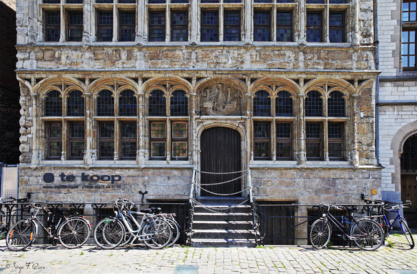 Façades et vitrines - Gand - Belgique