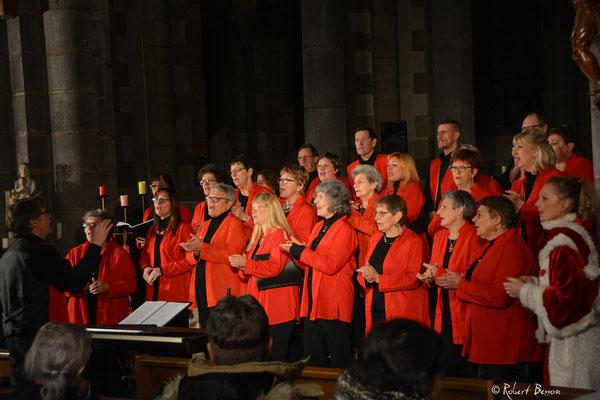 Concert de Noël 2017 de la chorale Volcalise - Eglise Saint-Joseph de La Bourboule - Auvergne - France