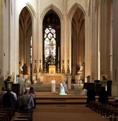 Eglise Saint Gervais - La prière - Place St Gervais - Paris île de France (Septembre 2012)