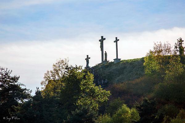 Le calvair de Saint-Bonnet-prés-Orcival dans le massif du Sancy - Auvergne - France
