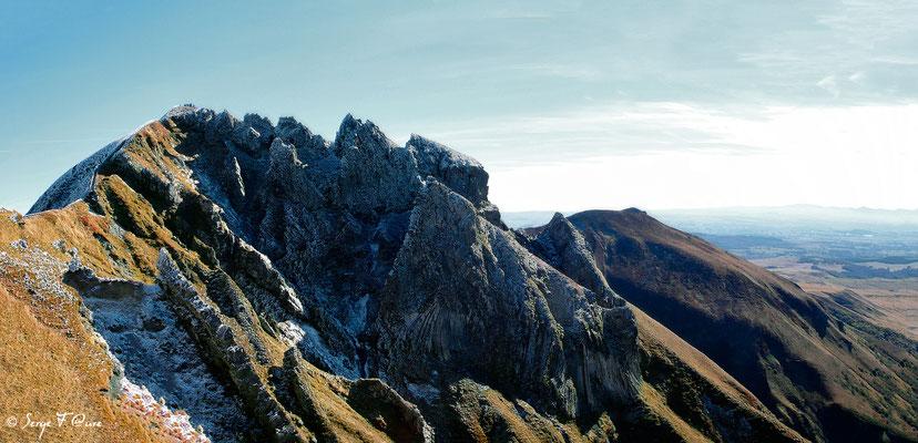 Le Puy de Sancy (altitude de 1886 m) - Auvergne - France