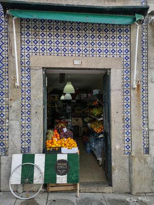 Magasin de légumes - Ville historique de Porto - Portugal