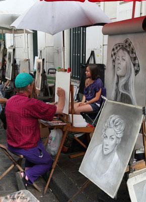 Les peintres - Place du Tertre - Montmartre - Paris - France - 2010