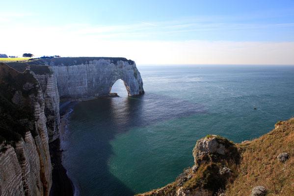 Etretat et ses falaises - Seine Maritime - Haute Normandie - France - Novembre 2011
