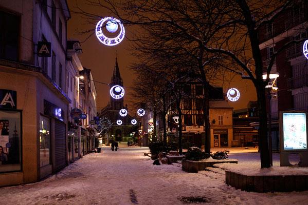 Rouen St Severs sous la neige (Décembre 2010)