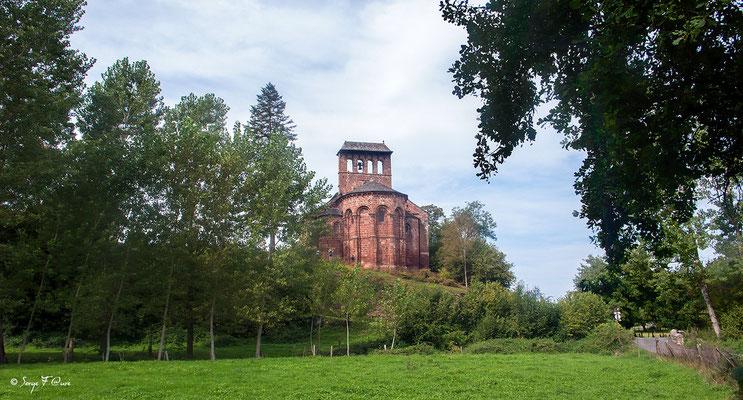 Chapelle de Perse à Espalion - France - Sur le chemin de St Jacques de Compostelle (santiago de compostela) - Le Chemin du Puy ou Via Podiensis (variante par Rocamadour)