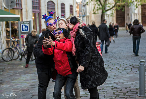 """Vous avez dit """"selfie"""" - Rouen - France - Novembre 2014"""