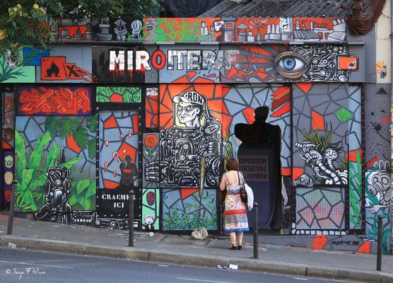 """""""Ménilmontant - Paris - France"""" Façades et vitrines par Serge Faure"""