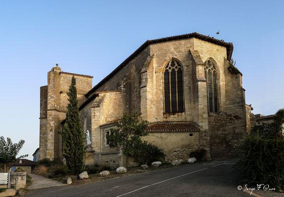 Eglise Saint-Orens-et-Saint-Louis à Miradoux - France - Sur le chemin de Compostelle