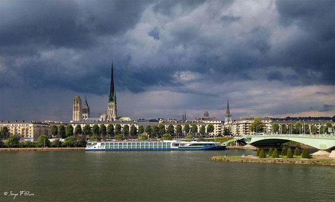 La Cathédrale - Rouen - Seine Maritime - Normandie - France - Août 2014