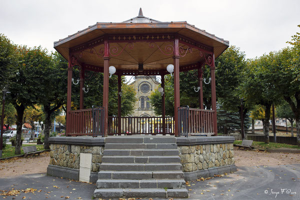 Le kiosque à musique - La Bourboule - Auvergne - France