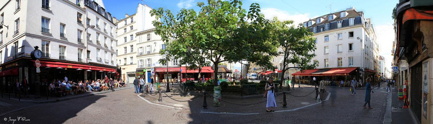 Place de la Contrescarpe - Paris 5ème - France - 2011 - Vue panoramique