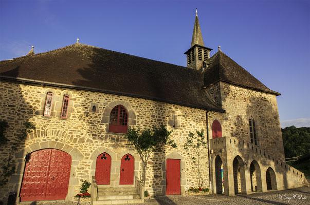 Chapelle Saint-Blaise - Château de Val à Lanobre dans le Cantal en Auvergne - France