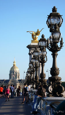 Le Pont Alexandre III - Paris - France - 2010