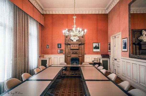 Salle du Conseil de la Mairie de La Bourboule - Auvergne - France