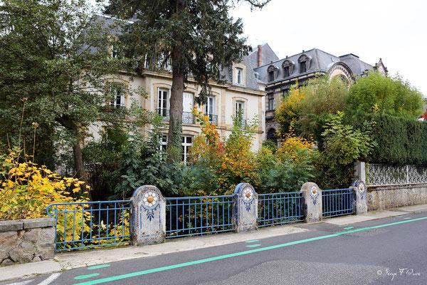 Pont sur le Vendeix - Quai Gambetta - La Bourboule - Auvergne - France
