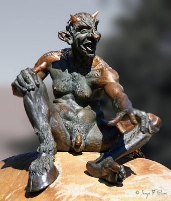 Bodetal - Le Diable - Le Harz - Allemagne - (le véritable pays des sorcières)