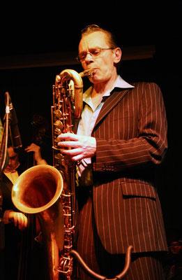 "Saxo baryton: Jean-Marc Labbe / Matthieu Boré ""Fats Domino's True Spirit"" / SancySnowJazz 2009"