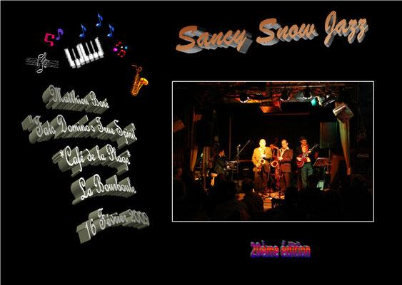 """Matthieu Boré """"Fats Domino's True Spirit"""" / Sancy Snow Jazz 2009 / 20ème Festival / La Bourboule"""