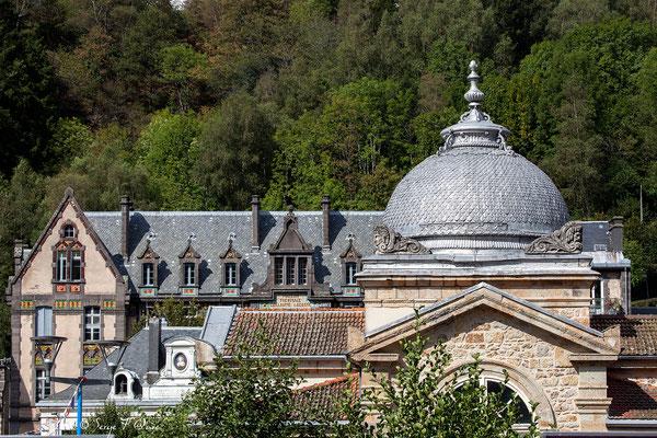 Toiture des Grands Thermes de La Bourboule - Auvergne - France