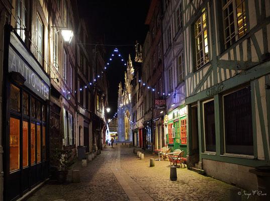Rue Malpalu - Rouen - Seine Maritime - Normandie - France