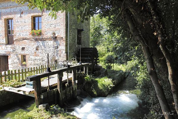 Moulin à eau - Veules les roses - Pays de Caux - Normandie - France
