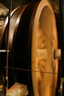 Roue à eau dans la mine de Goslar - Le Harz - Allemagne - (le vrai pays des sorcières)