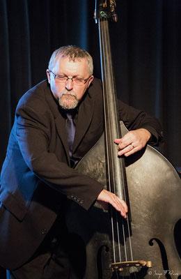 Pierre Maingourd (contrebasse) - 26ème Festival de jazz 2015 (Sancy Snow Jazz) Le Mont Dore - Auvergne - France