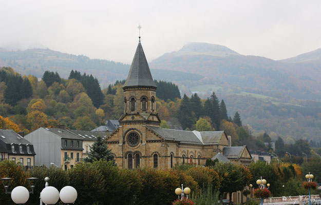 Eglise de La Bourboule - Auvergne - France