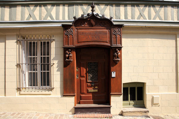 Rue des Carmélites - Rouen - Seine Maritime - Normandie - France