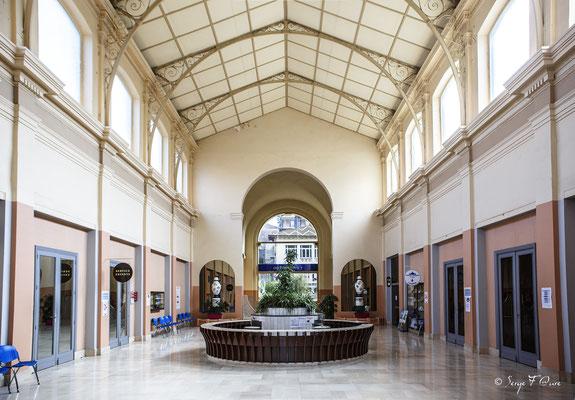 Grande salle des Grands Thermes de La Bourboule - Auvergne - France