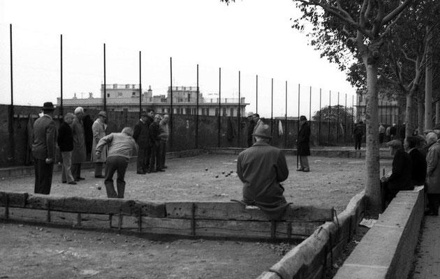 Joueurs de boules - Italie - 1978